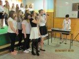 Uroczystość 3 maja wZespole Szkół wGrabowie